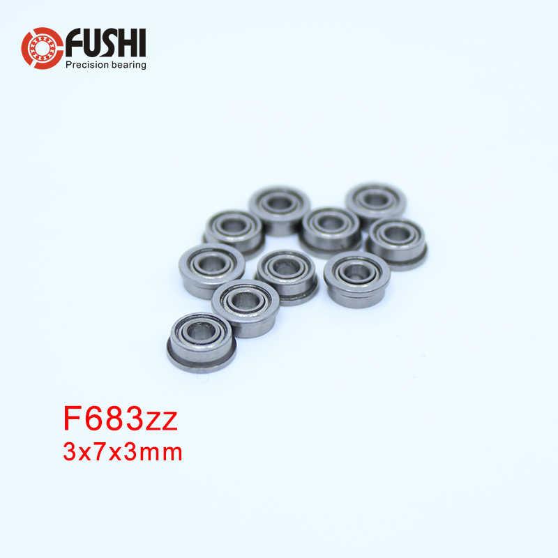 10 Miniture Bearing 3x7x3 Ball Bearings 3x7 mm 7mm OD