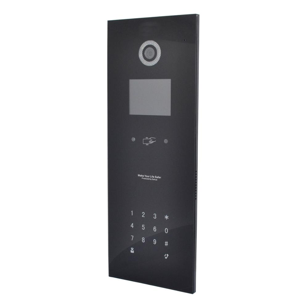DH Logo Multi-language Apartment IP Video Intercom VTO1210B-X ,door Phone,SIP Doorbell,waterproof Include Mounted Box