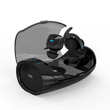 Bluetooth 4.2 Wireless Earphones TWS In Ear Stereo Bass Earphone Sports Headset with Mic with Charging Box Bluetooth Earbuds edifier w285bt bluetooth 4 2 earphone in ear stereo bluetooth earphones ipx4 waterproof with mic and line control