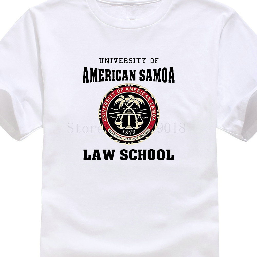 2019 Short Sleeve Cotton T Cheap T Shirts Funny University Of American Samoa Law School Dt Crew Neck Short Sleeve Mens T Shirt image