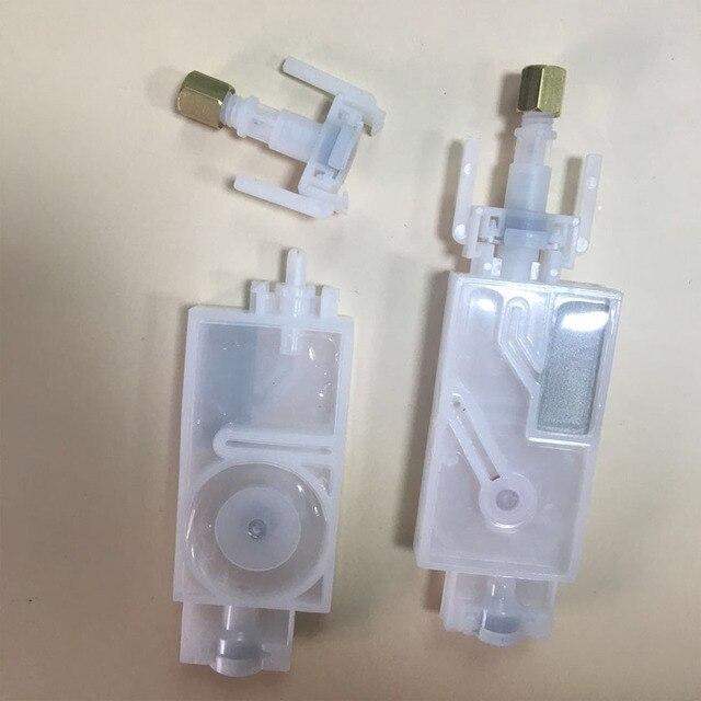 10 adet dx5 mürekkep damperi için bağlayıcı ile mimaki jv33 jv5 cjv30 roland mutoh Galaxy insan wit color dx5 baskı kafası damper filtresi