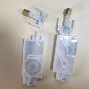 Image 1 - Amortiguador de tinta dx5 con conector para mimaki, jv33, jv5, cjv30, roland, mutoh, Galaxy Human, wit color, filtro de cabeza de impresión dx5, 10 Uds.
