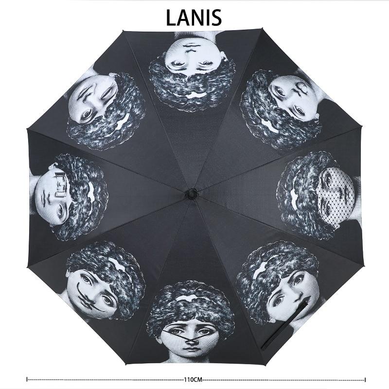 Image 3 - Fornaseti Long Handle Umbrella Men Gift Clear Golf Umbrella Parasol Rain Umbrella Female Women Betty Boop Decoration Umbrella-in Umbrellas from Home & Garden