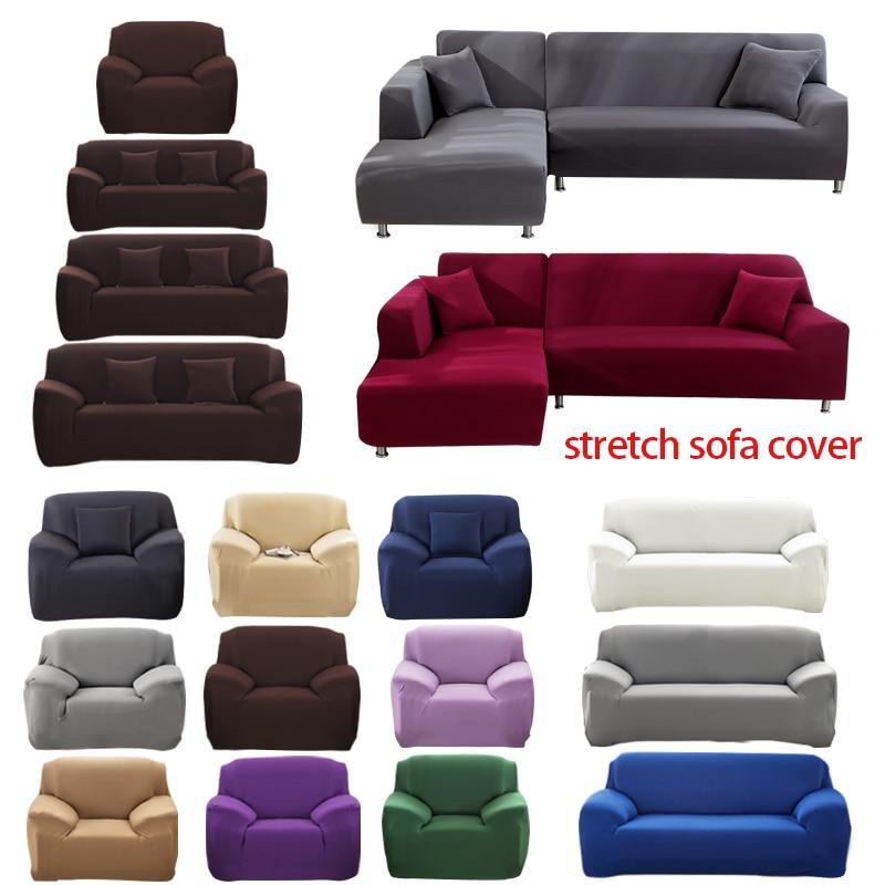 Capa de sofá elástico algodão all-inclusive estiramento slipcover capa de sofá toalha capa de sofá para sala de estar copriivano 1pc