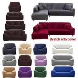 Elastyczna narzuta na sofę bawełna All inclusive Stretch narzuta na sofę Sofa ręcznik narzuta na sofę do salonu copridivano 1pc w Nakrycie na sofę od Dom i ogród na