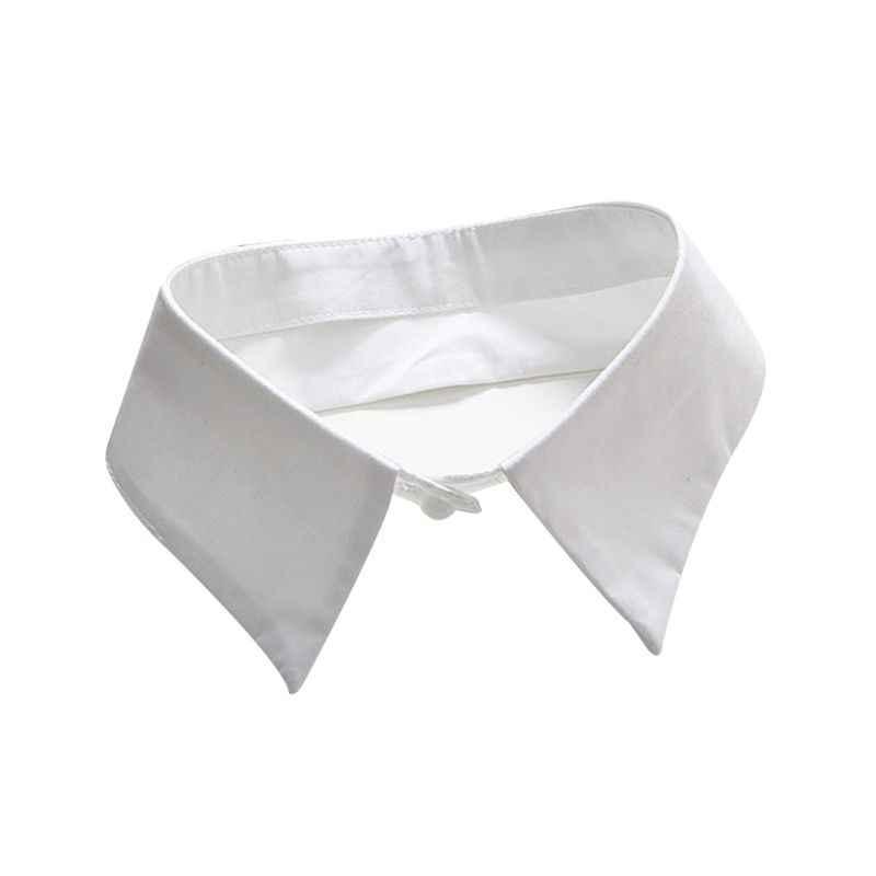 Классический черный/белый воротник накладной воротник от рубашки галстук винтажный съемный ненастоящий ошейник куртка с лацканами Топ для женщин/мужчин одежда Acces