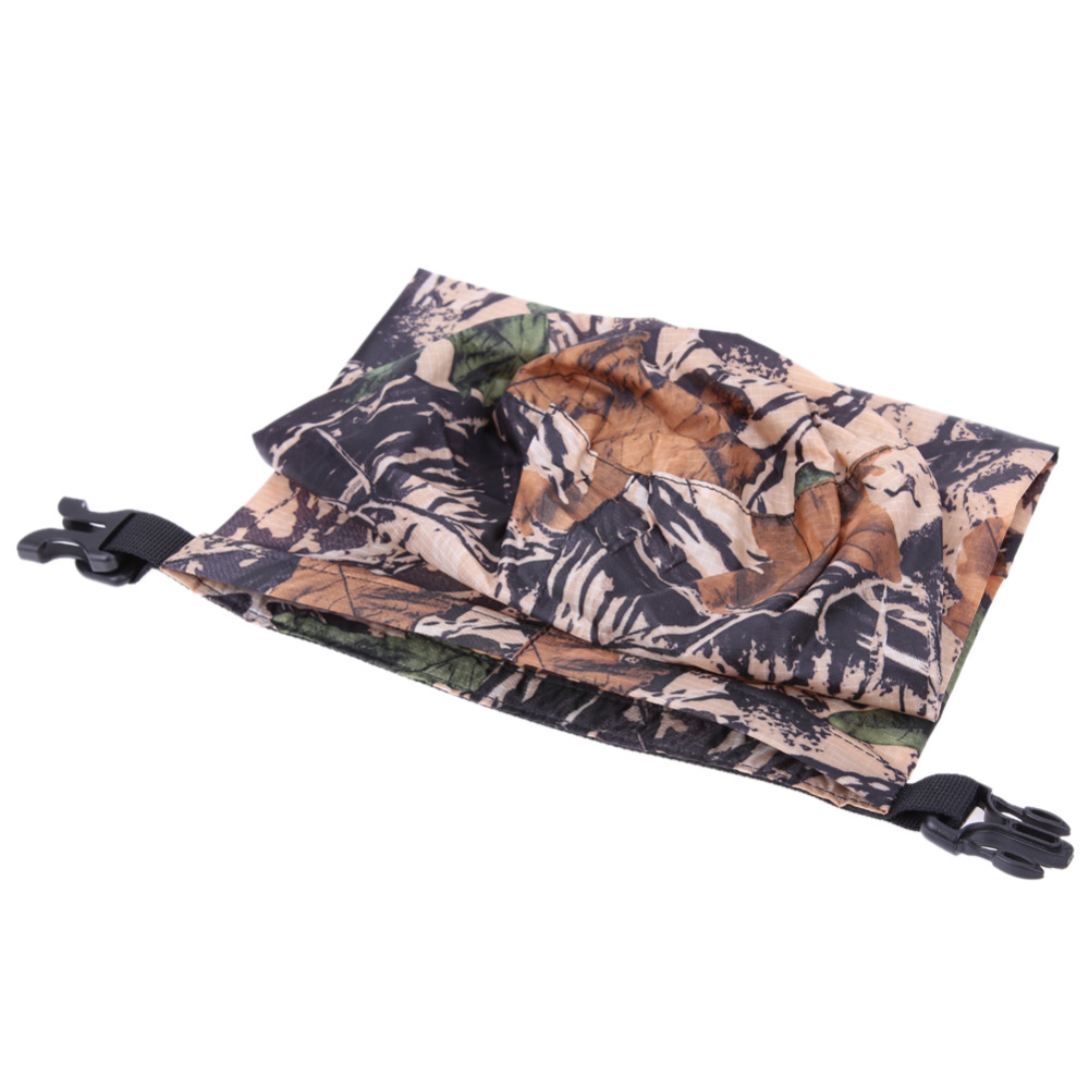 2017 8L Outdoor Camouflage Rafting Bag Swimming Floating Camping Waterproof Bag Dry Bag Clothes Storage Dry Bag Sack Set