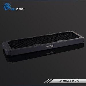 Image 2 - BYKSKI échangeur de chaleur, radiateur dordinateur de refroidissement à eau, liquide pour ventilateurs 12cm, 360mm, épaisseur 28mm, B RD360 TN mm