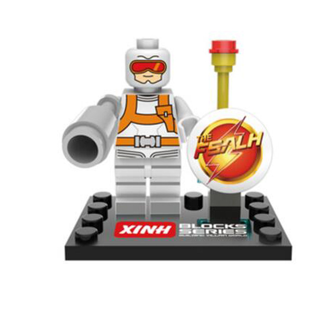 Única Venda de star wars super-heróis vingadores marvel DC Atom Flash building blocks define bricks modelo de ação brinquedos para as crianças 067-074