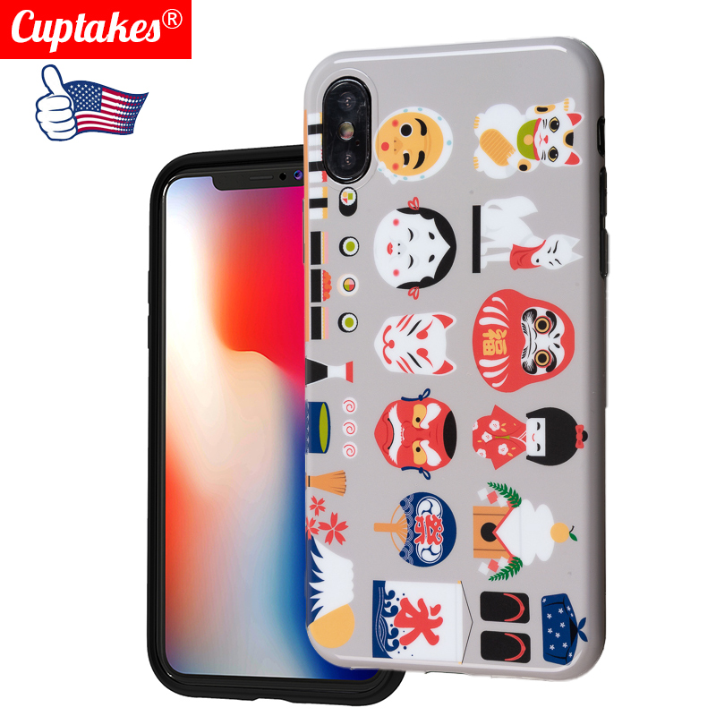 Luxury Glossy Marble Phone <font><b>Cases</b></font> for <font><b>iphone</b></font> X XS Max Cover For <font><b>iphone</b></font> <font><b>8</b></font> 7 Plus 6 6S <font><b>Case</b></font> <font><b>Silicone</b></font> Soft Shell Japan Art <font><b>Original</b></font> image
