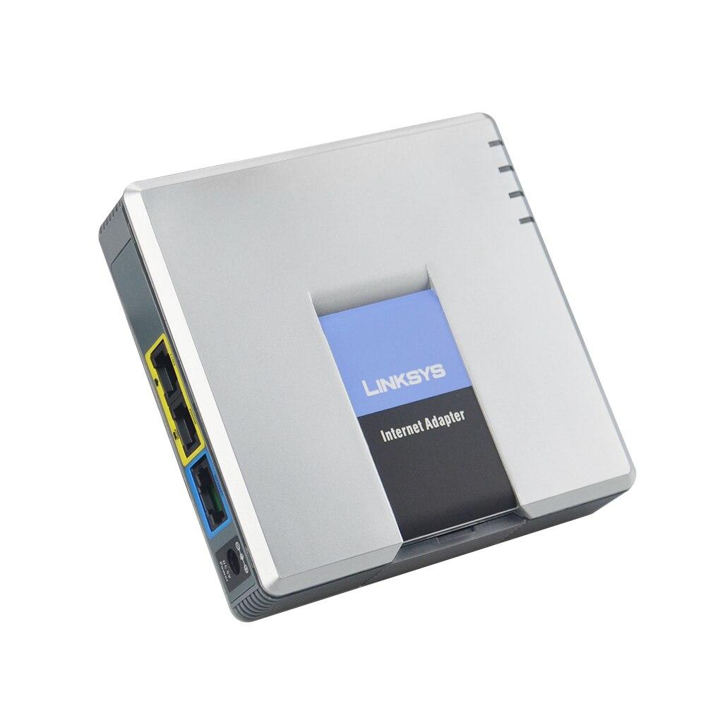 Schnelles freies Verschiffen! ENTSPERRT LINKSYS SPA3000 SPA 3000 VOIP FXS VoIP Telefon Adapter voice ip-telefon adapter