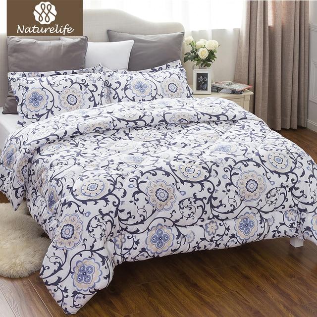 Naturelife Traditional Rollgrass Pattern Comforter Duvet Set 3 Pcs