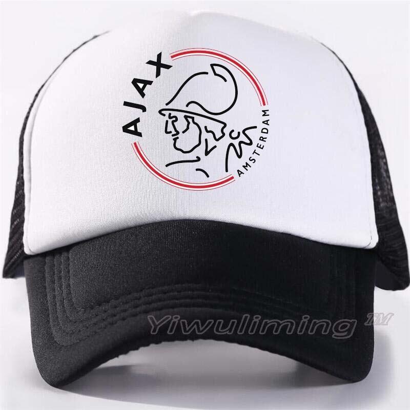 New Summer Trucker   Caps   ajax Cool Summer Black Adult Cool   Baseball   Mesh Net Trucker   Caps   Hat for Men Adjustable