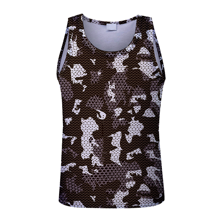 2018 Fitness Men Bodybuilding camouflage   Tank     Tops   Sleeveless hoodies Clothing Shirts Summer Fashion Workout Clothes