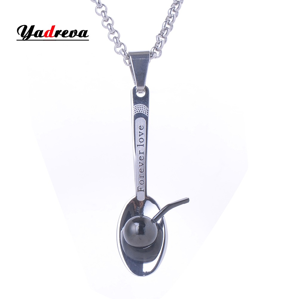 316l stainless steel lock pendant necklace free 50cm chain high never fade statement 316l stainless steel scoop pendant with free necklace black tone men gift jewelry aloadofball Choice Image