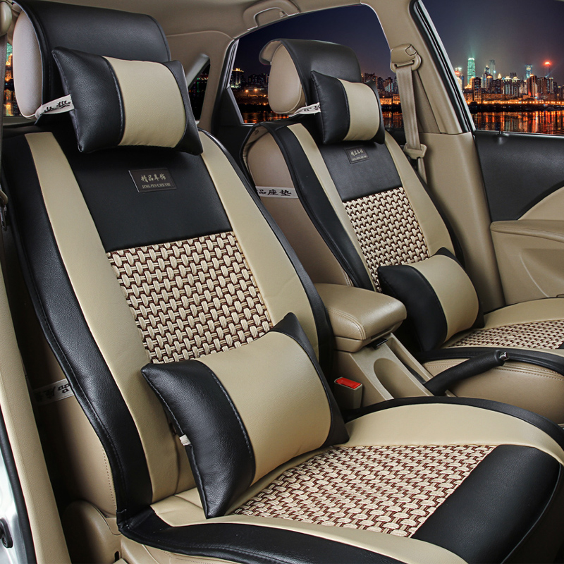 Car Seat Cover .Universal Size Seat covers pads fit for most cars, single car seat cushion for benz for ford