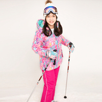 Winter Kids Ski Suit Children Waterproof Windproof Thermal Snowboarding Jacket Girls Outdoor Sport Skiing Clothes Pants Sets