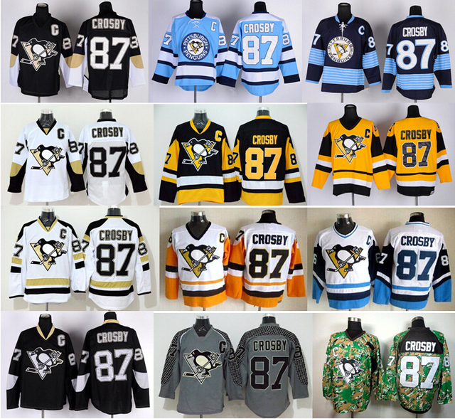 2c0b115c7 Top quality production Cheap 87 Sidney Crosby Jersey Pittsburgh Penguins  Ice Hockey Jerseys Winter Classic Stadium Series Black