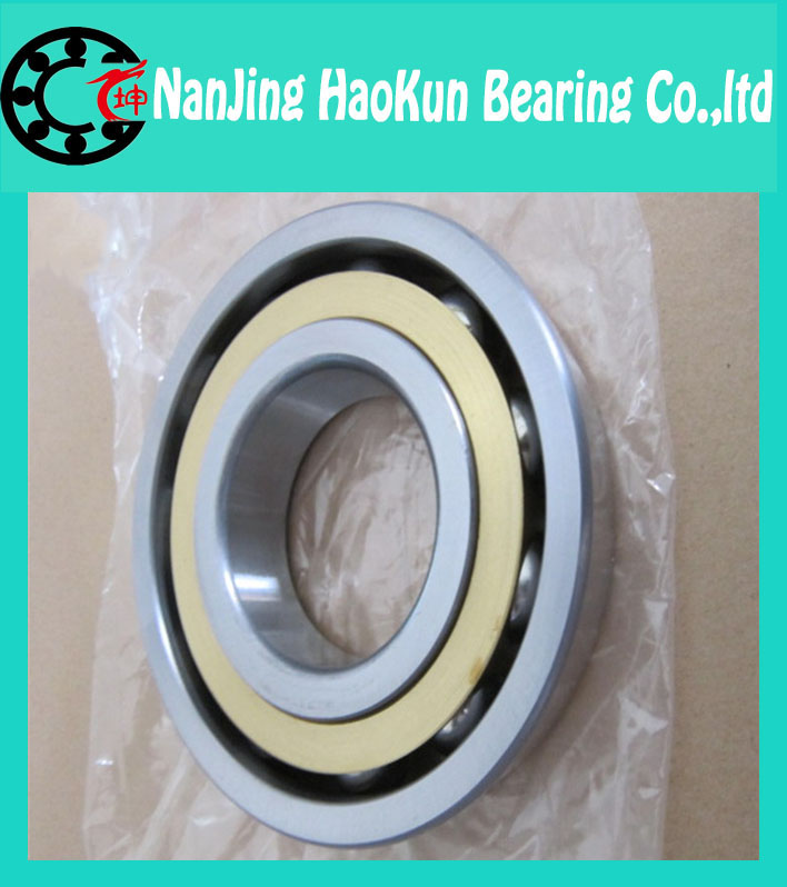 30mm diameter Angular contact ball bearings 7206 C/P4DT 30mmX62mmX32mm,Contact angle 15,ABEC-7 Machine tool