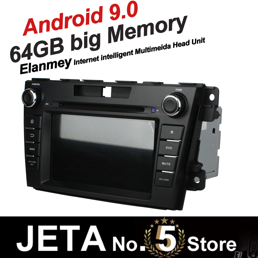 Fit for MAZDA CX-7 2012 2013 Car Radio GPS Music player tape recorder Android 9.0 64GB big memory DSP equalizer IPS TOUCH screen image