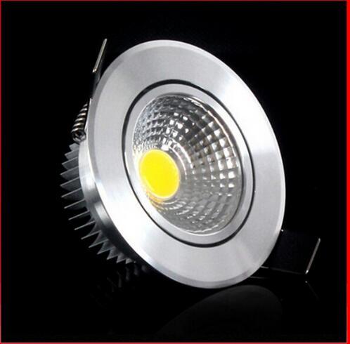 Super Bright 1 stk. Dimmable Led Downlight Light COB Loft ac110-220v - Indendørs belysning - Foto 2