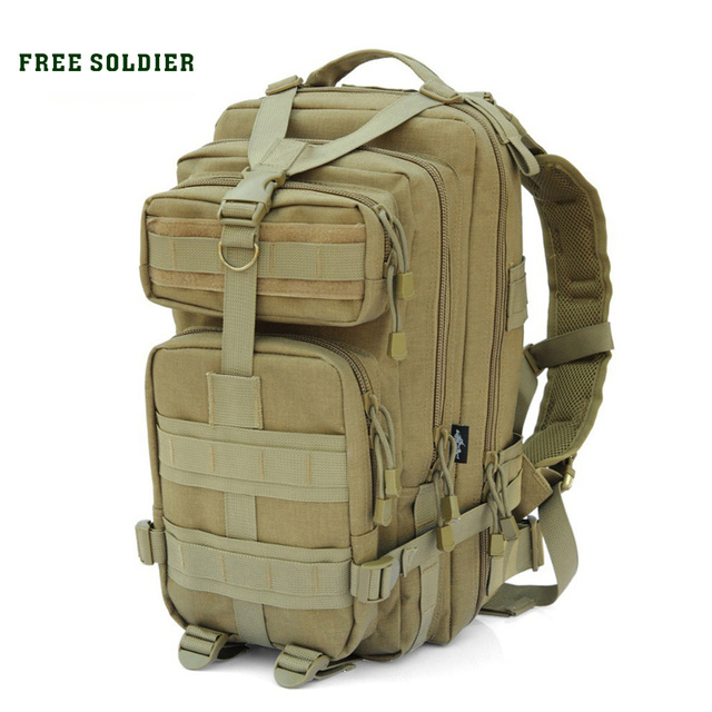 FREE SOLDIER outdoor sports tactical military bags 1000D nylon for camping  hiking Cycling mountaineering men s backpack 30-45L 7d6bf89483247