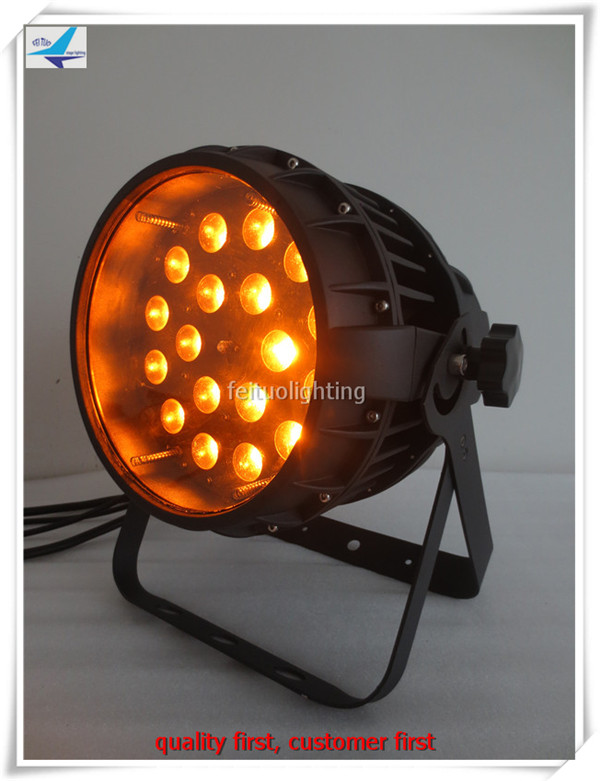 2pcs/lot China Led Par 64 Cans IP65 Outdoor Zoom Led Par Light 18x18w RGBWA UV 6in1 Led Par Stage Light ...