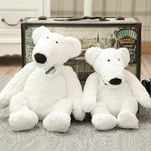 Lovely Little Polar Bear Doll Plush Toy Stuffed Animal Toys Soothe Doll Send to Children Baby Birthday Gift цена
