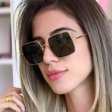 Retro Square sunglasses women 2019 Vintage Classic metal men Fashion Brand Designer Small Frame glasses