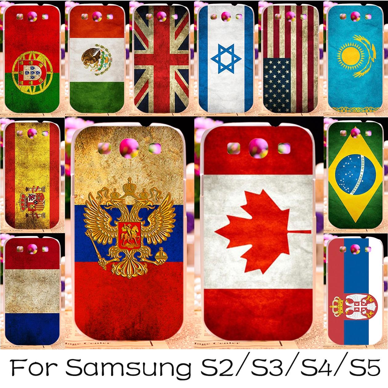 De silicona o plástico teléfono móvil case para samsung galaxy i9300 i9500 S2 S3