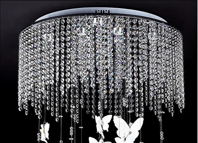 Kristall Kronleuchter 60 Cm ~ Freies verschiffen dia 40 50 60 cm neue moderne engel kreative