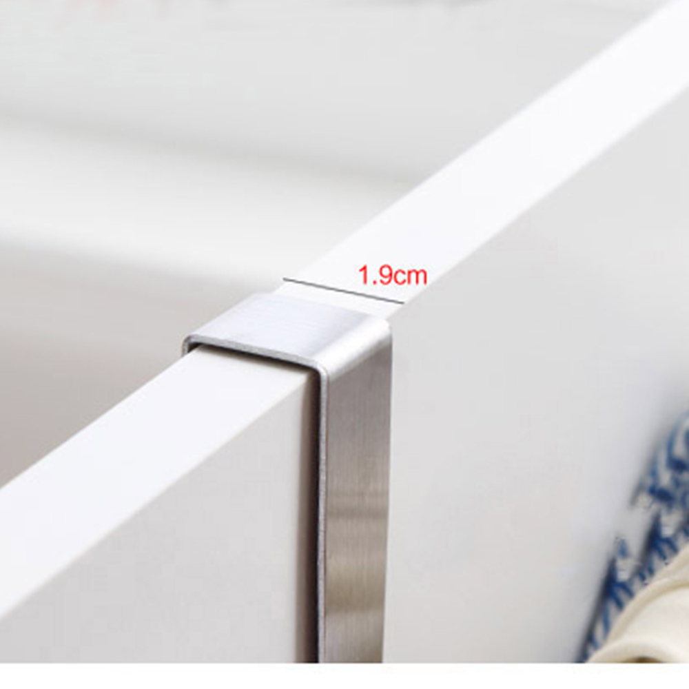 Superbe Stainless Steel Towel Bar Holder Over The Kitchen Cabinet Cupboard Door  Hanging Rack Storage Holders Accessories In Towel Racks From Home  Improvement On ...