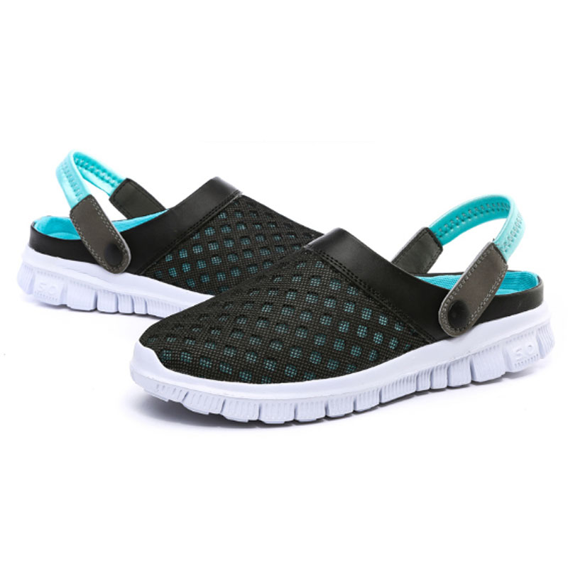 New 2016 Women Men Clogs Garden font b Shoes b font Women Fashion Breathable Women Mules