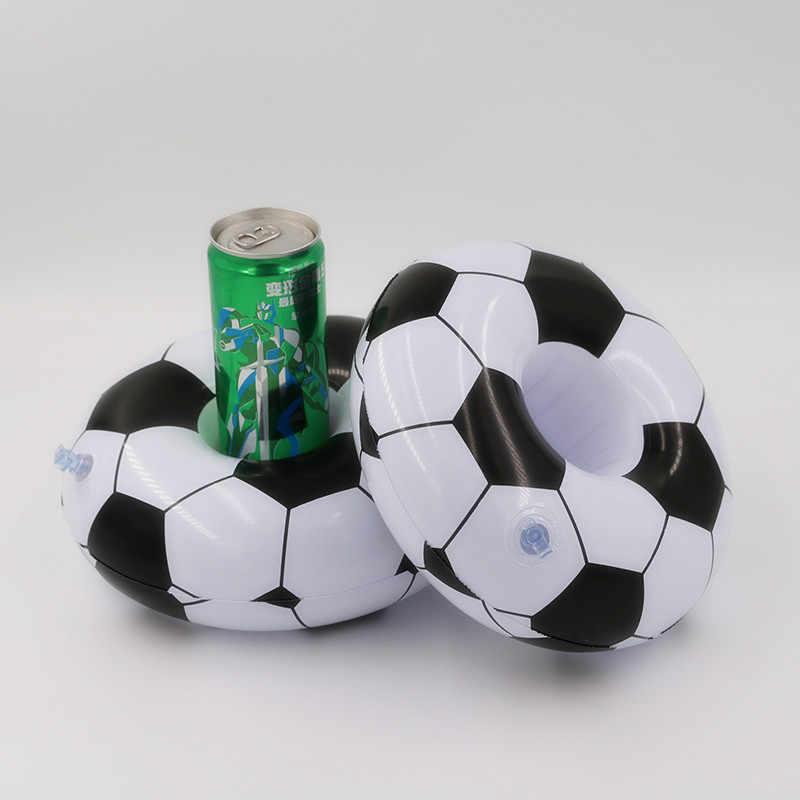 Бассейн напиток пиво плавательная игрушка чашка подставка водяное сиденье Плавающий надувной держатель для банки подставки вечерние аксессуары