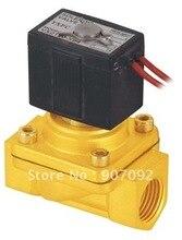 Бесплатная доставка 1/2 » SMC эквивалент VX 2/2 Way латунь электромагнитный клапан VX2120-15 5 шт.