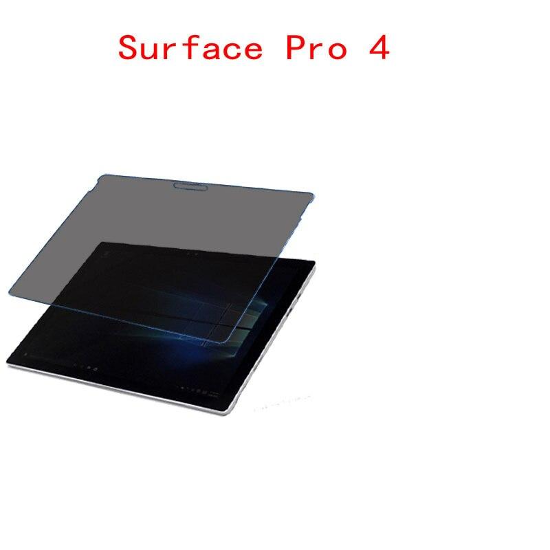 Bilgisayar ve Ofis'ten Tablet Ekran Koruyucuları'de Microsoft Surface Pro 4 laptop için ekran ekran koruyucu Koruyucu Gizlilik Anti blu ray etkili koruma görüş title=