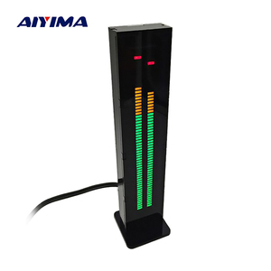 AIYIMA AS60 LED Music Spectrum Indicator Dual Channel 60 Professional Level Volume Display Electronic DIY Light VU Meter