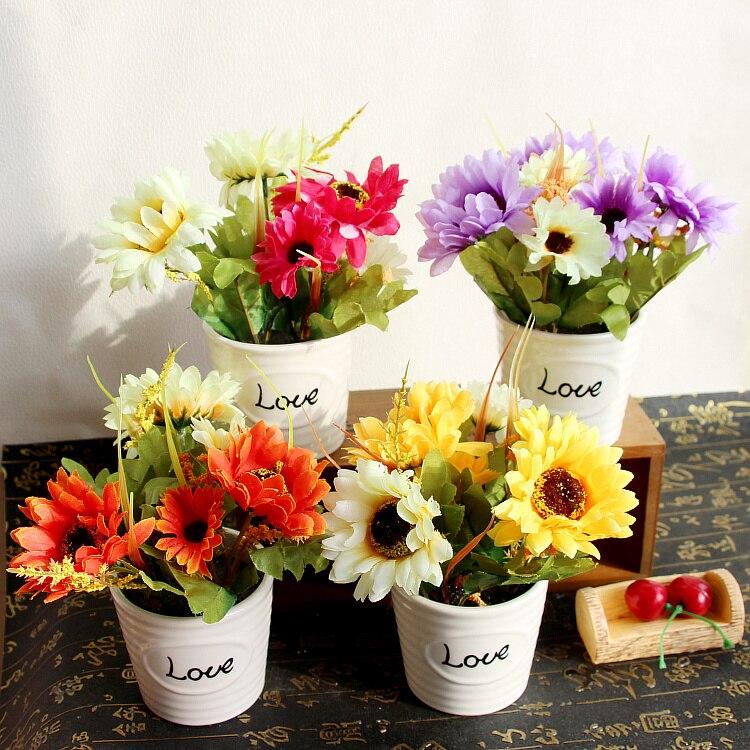 Մի շարք 50 gerbera ծաղիկների բոնսայի - Տոնական պարագաներ