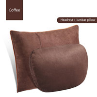 Cervical pillow for Mercedes Benz car headrest S class Maybach car seat car cushion pillows Auto lumbar decorative supplies 2pc