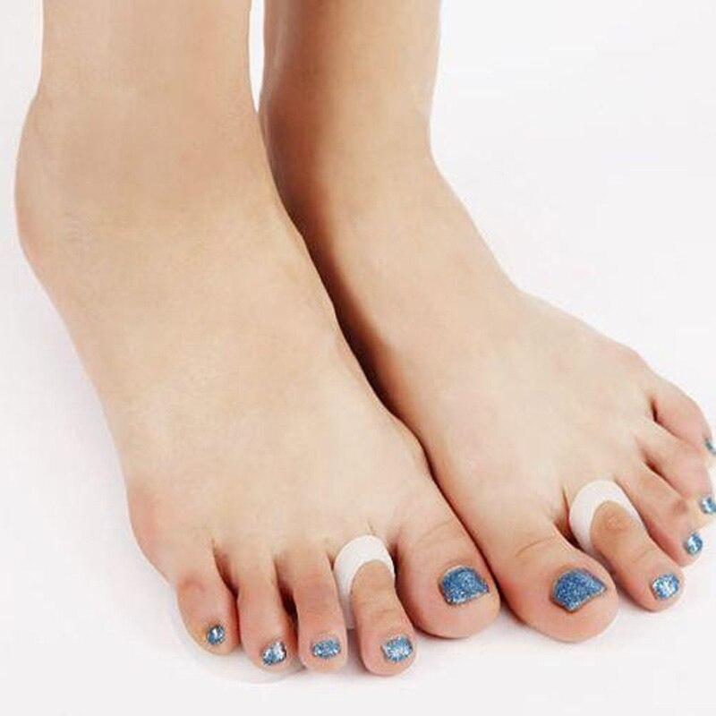 10Pair Silicone Toe Separator Gel Pad Separators Separador De Dedos Forefoot Foot Pads Shoes Insoles Insert Foot Care Pedicure