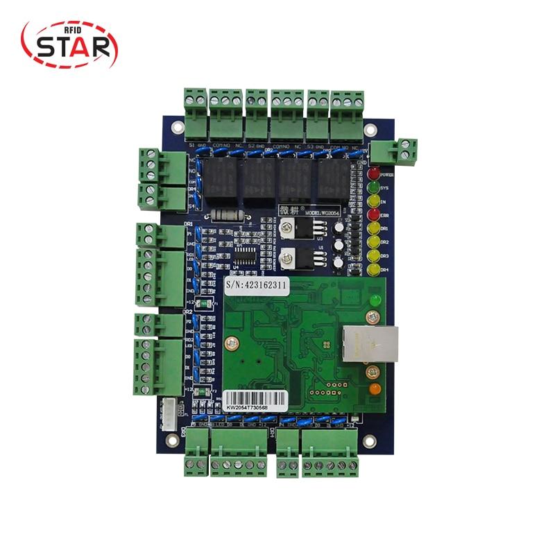 Wiegand Access Control Board TCP/IP 4 Door Access Controller 4 Door Access Control Panel все цены
