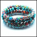 wholesale price gem stone beads men's and women's bracelet  two types buddha wholesale  jewelry bracelet 8mm size free shipping