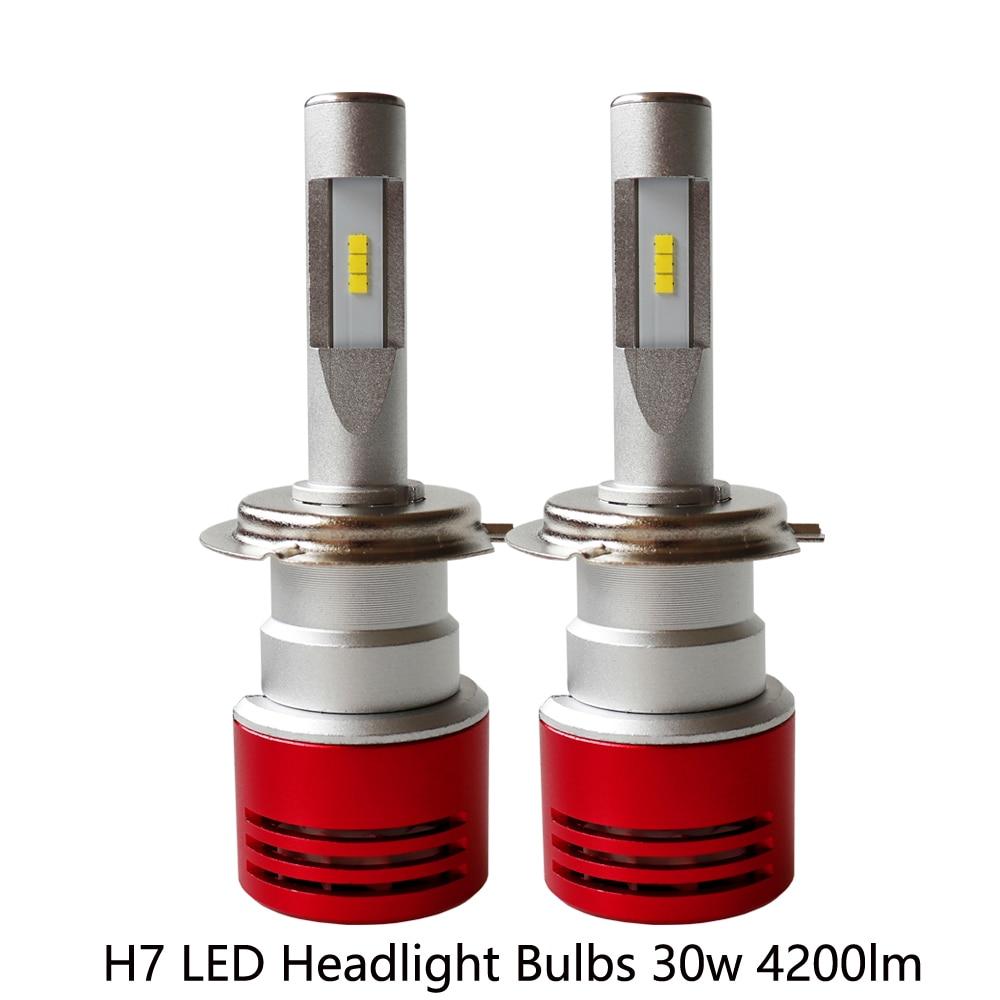Turbo Universal Headlight Led String: Turbo Design Universal Motorcycel Headlight H7 60W 8400LM