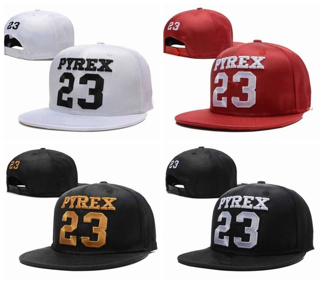 JD letter PYREX 23 Snapback hats 5 styles Brand Hip Hop mens women best  sale sports Casquettes gorras bones pinhan baseball caps 546afea0424
