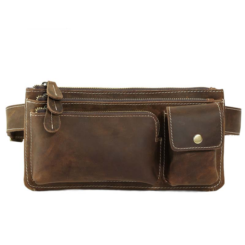 Genuine Leather Waist Packs Fanny Pack Belt Bag Phone Pouch Bags Travel Waist Pack Male Small Waist Bag Leather PouchGenuine Leather Waist Packs Fanny Pack Belt Bag Phone Pouch Bags Travel Waist Pack Male Small Waist Bag Leather Pouch