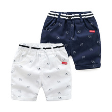 Boys Casual Pants Boys Cotton Shorts Kids Beach Shorts Child Sports Pants for 2-6T Summer Trousers Teenage Shorts Baby Shorts