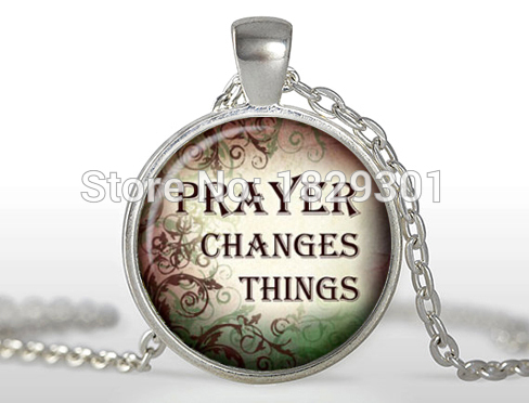 New classic christian quotes pendant inspirational necklace sayings new classic christian quotes pendant inspirational necklace sayings jewelry glass cabochon photo necklaces female pendants hz1 in pendant necklaces from aloadofball Images