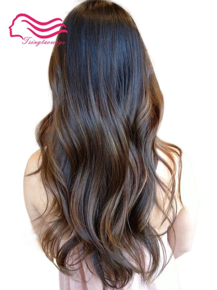 Tsingtaowigs made dirt blonde with highlite , European virgin hair , kosher wigs , jewis ...