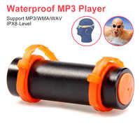 IPX8 Wasserdichte MP3 Player 4 GB/8 GB Schwimmen Tauchen Musik Spieler Unterwasser Sport MP3 Player Kopfhörer für Schwimmen