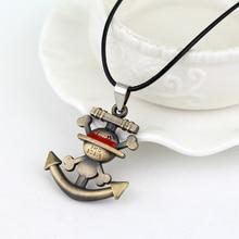 One Piece Anchor Pendant